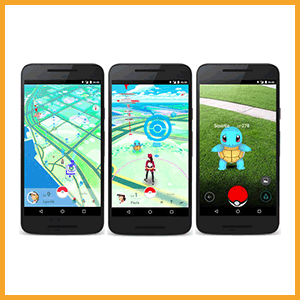 Pokemon Go phone
